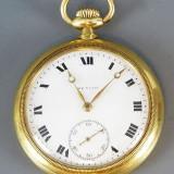 Ceas de buzunar Zenith de aur 18 k