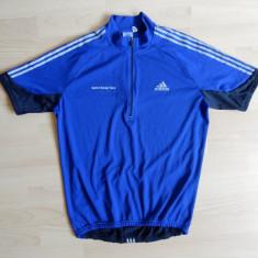 Tricou ciclism Adidas System Design Team; marime L, vezi dimensiuni; ca nou