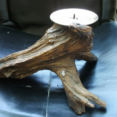 Suport lumanare lemn - Lumanare parfumata