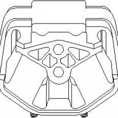 Suport motor OPEL ASTRA F 1.8 i 16V - TOPRAN 201 352 - Suporti moto auto