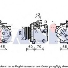 Compresor, climatizare SUZUKI SX4 limuzina 1.6 - AKS DASIS 851985N - Compresoare aer conditionat auto KLOKKERHOLM