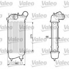 Intercooler, compresor CITROËN C3 I 1.4 16V HDi - VALEO 817651 - Intercooler turbo
