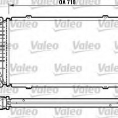 Intercooler, compresor MERCEDES-BENZ SPRINTER 2-t platou / sasiu 210 D - VALEO 816890 - Intercooler turbo