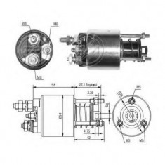 Solenoid, electromotor FIAT UNO 45 - ERA 227864
