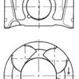 Piston ALFA ROMEO GIULIETTA 2.0 JTDM - KOLBENSCHMIDT 41070600
