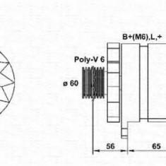 Generator / Alternator RENAULT EXTRA caroserie 1.9 D - MAGNETI MARELLI 943356952010 - Alternator auto