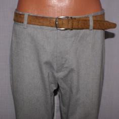 Pantaloni barbati H&M HM marimea 50 culoarea gri (smart casual), Lungi, Bumbac
