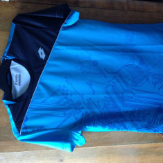 Tricou Lotto marimea S. - Tricou barbati Lotto, Marime: S, Culoare: Bleu
