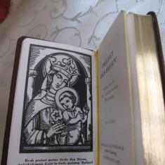 CARTE CATOLICA DE RUGACIUNI AURITA EDITIE LIMITATA ANUL 1911 - LIMBA GERMANA - Carte de rugaciuni