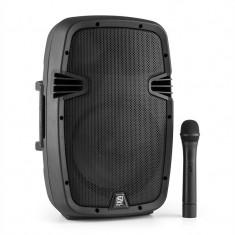 Skytec SPJ-PA910 boxe active, PA Acumulator Bluetooth USB SD MP3 VHF 400W
