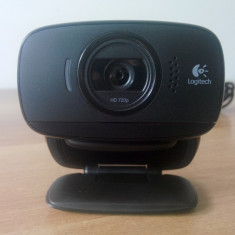 Camera Web HD Logitech B525 1280 x 720 Black. - Webcam Logitech, 1.3 Mpx- 2.4 Mpx, Microfon