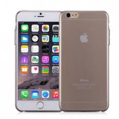 Husa iPhone 6s Plus, 6 Plus |Ultra Slim TPU Clear Twist|Negru| Momax - Husa Telefon