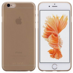 Husa iPhone 6s Plus, 6 Plus |Ultra Thin Membrane Series|Auriu| Momax - Husa Telefon