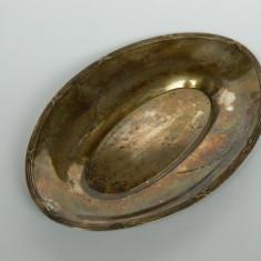 Tavita ovala argintata, Tava
