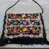 TRAISTA-GEANTA TESUTA MANUAL PTR DAME, OPERA DE ARTA - Geanta handmade