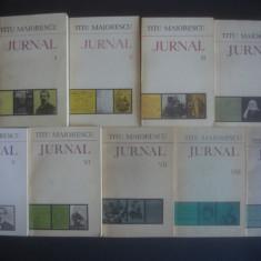 Biografie - TITU MAIORESCU - JURNAL 9 volume, seria completa