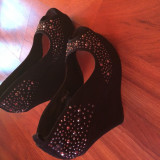 Pantofi - Pantofi dama, Marime: 37, Culoare: Negru
