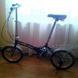 "Bicicleta pliabila First Bike 16"" - Bicicleta pliabile, 16 inch, 16 inch, Numar viteze: 6"