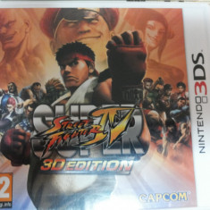 Vand joc nintendo 3ds, 3 ds, nou, SUPER STRET FIGHTER 4 - Jocuri Nintendo DS Activision, Arcade, 3+, Single player