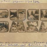 PUCIOASA - Carte Postala Banat dupa 1918, Circulata, Fotografie