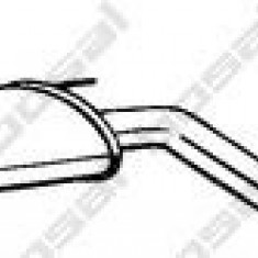 Toba esapamet intermediara VAUXHALL VECTRA Mk II 2.2 16V - BOSAL 292-039 - Toba finala auto