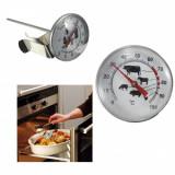 Termometru tija Termometru alimentar culinar termometru bbq 120 grade termometru