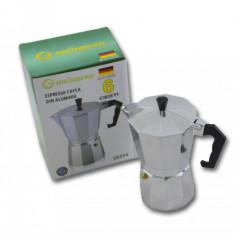Espressor manual de cafea pentru 6 cesti, Cafea macinata