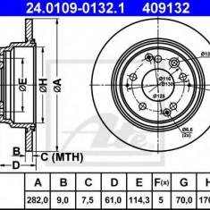 Disc frana HONDA LEGEND Mk II 3.2 i 24V - ATE 24.0109-0132.1 - Discuri frana REINZ