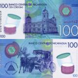 NICARAGUA 100 cordobas 2014 (2015) polymer UNC!!!, America Centrala si de Sud