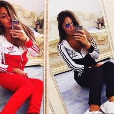 Trening adidas new young dama model excelent 2016 - Trening dama Adidas, Marime: M, L, XL, XXL, Culoare: Bleumarin, Negru, Rosu, Bumbac