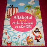 ALFABETUL - carte de colorat pentru copii + CADOU