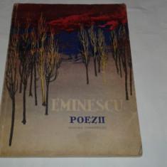 Eminescu - Poezii ilustratii de Perahim - Carte poezie