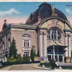 BUCOVINA, CERNAUTI, TEATRUL NATIONAL, CIRCULATA 1933 - Carte Postala Bucovina dupa 1918, Printata