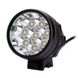 LPC-B08 - Lanterna frontala / far bicicleta 8x CREE XM-L T6