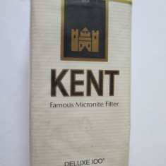 PACHET COLECTIE TIGARI KENT ANII 80-90 - Pachet tigari