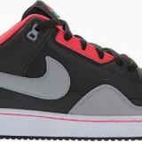 Adidasi Nike Mens Alphaballer Low marimea 42 - Adidasi barbati Nike, Culoare: Negru, Piele naturala
