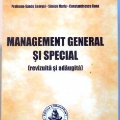 MANAGEMENT GENERAL SI SPECIAL ( REVIZUITA SI ADAUGITA ) de SIMION CRISTIAN, 2007 - Carte de vanzari