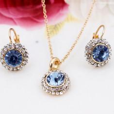 Placate cu aur de cristal Pandantive Accesorii colier cercei de nunta Seturi pandora