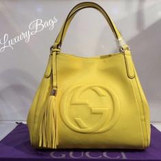Genti Gucci One Fringe Soho Collection 2016 * LuxuruBags * - Geanta Dama Gucci, Culoare: Din imagine, Marime: Masura unica, Geanta de umar, Piele