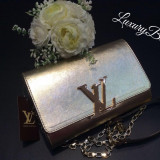 Genti Louis Vuitton Chain Louise GM Collection 2016 * LuxuryBags *
