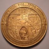 Medalie Regele Carol II Inaugurarea Caii Ferate Ilva Mica - Vatra Dornei 1938 - Medalii Romania