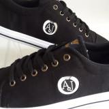 Adidasi Armani - Adidasi barbati Armani, Marime: 41, Culoare: Din imagine, Textil