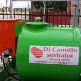 Rezervoare motorina suprateran cu caseta: 1200 l