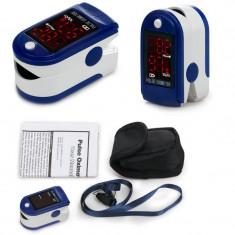 Pulsoximetru digital OLED, masurare nivel oxigen sange si puls. NOU - Aparat monitorizare