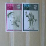 Brunei, churchill, serie nestampilata
