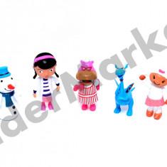 Plusica set 5 figurine - Figurina Desene animate