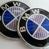 Emblema BMW capota / portbagaj tip carbon - Embleme auto