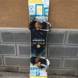 Placa snowboard ROSSIGNOL TRICK STICK 163cmW cu legaturi RIDE - Placi snowboard