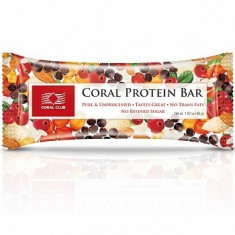 Concentrat proteic - Baton cu proteine, Coral
