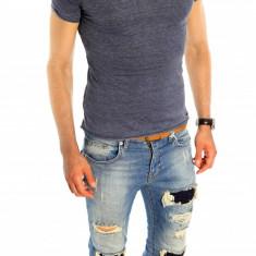 Tricou tip ZARA - tricou barbati - tricou slim fit - tricou fashion - 6515, Marime: S, XL, Culoare: Din imagine